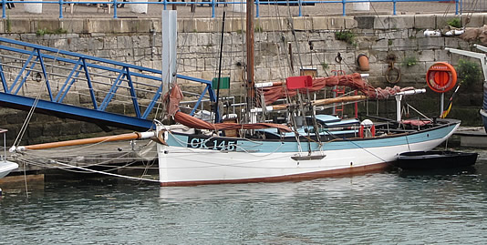 Betty at Ramsgate Royal Harbour