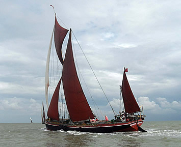 Thames Barge Repertor from Harwich